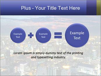 Bangkok at night PowerPoint Template - Slide 75