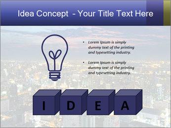 Bangkok at night PowerPoint Template - Slide 80