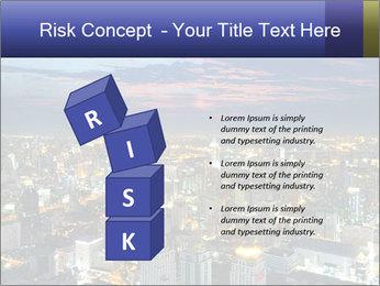 Bangkok at night PowerPoint Template - Slide 81
