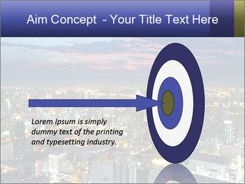 Bangkok at night PowerPoint Template - Slide 83