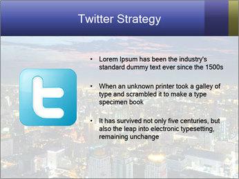 Bangkok at night PowerPoint Template - Slide 9