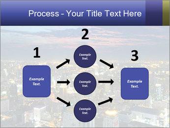 Bangkok at night PowerPoint Template - Slide 92