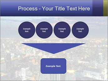 Bangkok at night PowerPoint Template - Slide 93