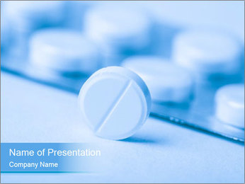 Pill PowerPoint Template