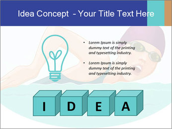 Swimming PowerPoint Template - Slide 80