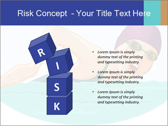 Swimming PowerPoint Template - Slide 81