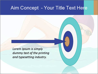 Swimming PowerPoint Template - Slide 83