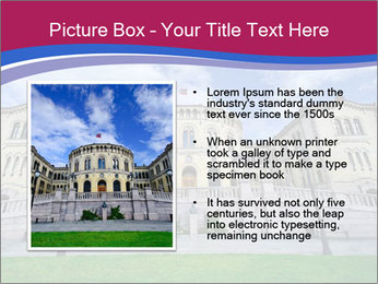 The norwegian parliament PowerPoint Template - Slide 13