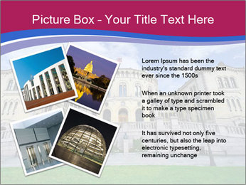 The norwegian parliament PowerPoint Template - Slide 23