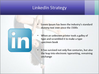 Woman dance PowerPoint Template - Slide 12