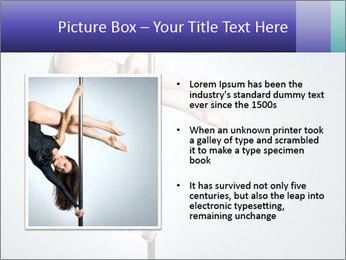 Woman dance PowerPoint Template - Slide 13