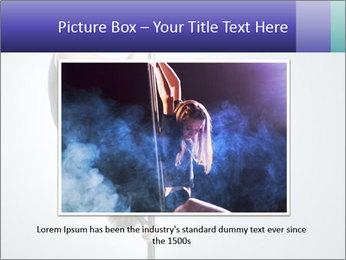Woman dance PowerPoint Template - Slide 15