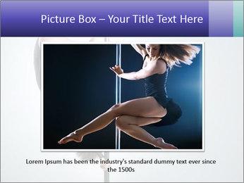 Woman dance PowerPoint Template - Slide 16