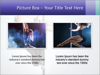 Woman dance PowerPoint Template - Slide 18