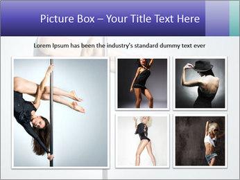 Woman dance PowerPoint Template - Slide 19