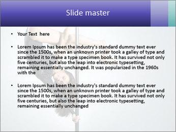 Woman dance PowerPoint Template - Slide 2