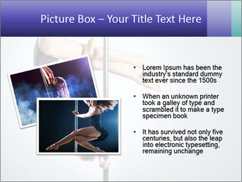 Woman dance PowerPoint Template - Slide 20