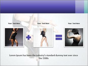 Woman dance PowerPoint Template - Slide 22