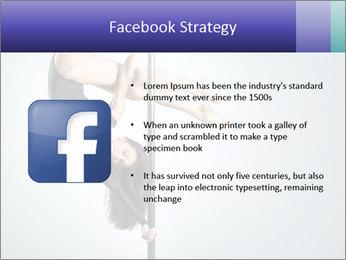 Woman dance PowerPoint Template - Slide 6