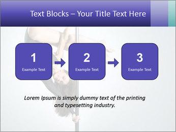 Woman dance PowerPoint Template - Slide 71