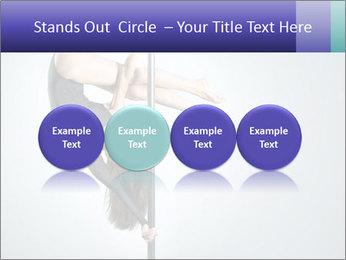 Woman dance PowerPoint Template - Slide 76