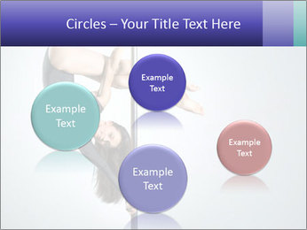 Woman dance PowerPoint Template - Slide 77