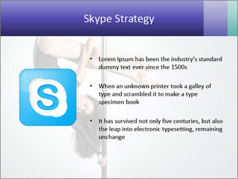 Woman dance PowerPoint Template - Slide 8