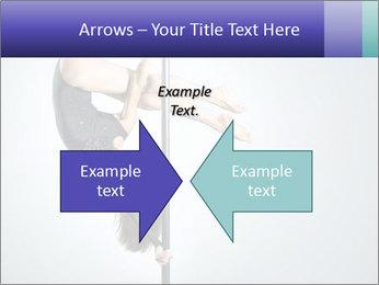 Woman dance PowerPoint Template - Slide 90