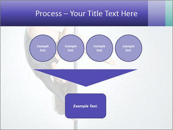 Woman dance PowerPoint Template - Slide 93