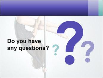 Woman dance PowerPoint Template - Slide 96