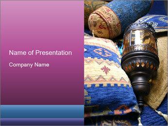 Turkish cushions PowerPoint Template