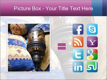 Turkish cushions PowerPoint Template - Slide 21