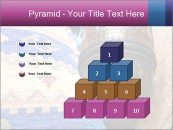 Turkish cushions PowerPoint Template - Slide 31