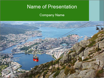 Mountain PowerPoint Template - Slide 1