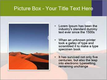 Red sand dune PowerPoint Templates - Slide 13