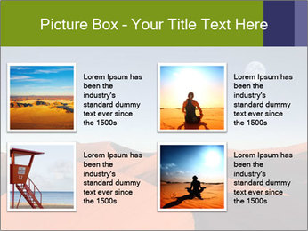Red sand dune PowerPoint Templates - Slide 14