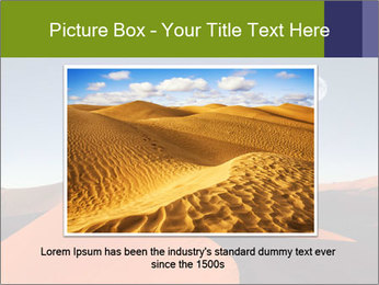Red sand dune PowerPoint Templates - Slide 15