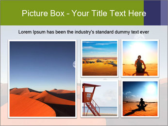 Red sand dune PowerPoint Templates - Slide 19