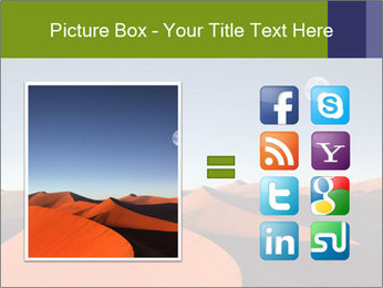 Red sand dune PowerPoint Templates - Slide 21