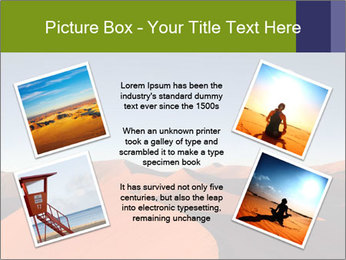 Red sand dune PowerPoint Templates - Slide 24