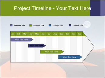 Red sand dune PowerPoint Template - Slide 25