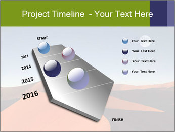 Red sand dune PowerPoint Templates - Slide 26