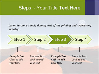Red sand dune PowerPoint Templates - Slide 4