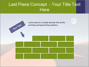 Red sand dune PowerPoint Template - Slide 46