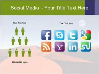 Red sand dune PowerPoint Template - Slide 5