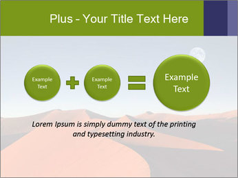 Red sand dune PowerPoint Template - Slide 75