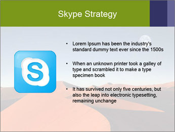 Red sand dune PowerPoint Template - Slide 8