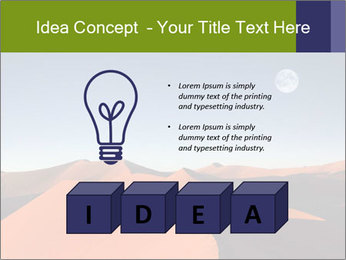 Red sand dune PowerPoint Template - Slide 80