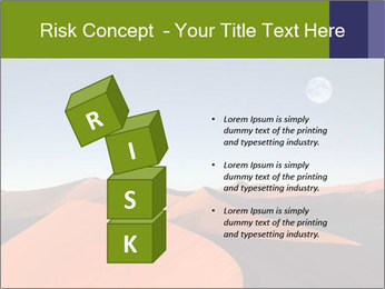 Red sand dune PowerPoint Template - Slide 81