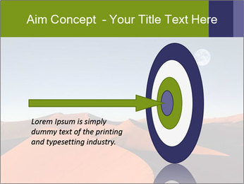 Red sand dune PowerPoint Template - Slide 83